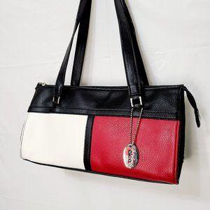 Cleo Colour Block Shoulder Bag